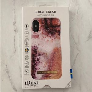 Ideal Of Sweden IPhone X Case || Coral Crush